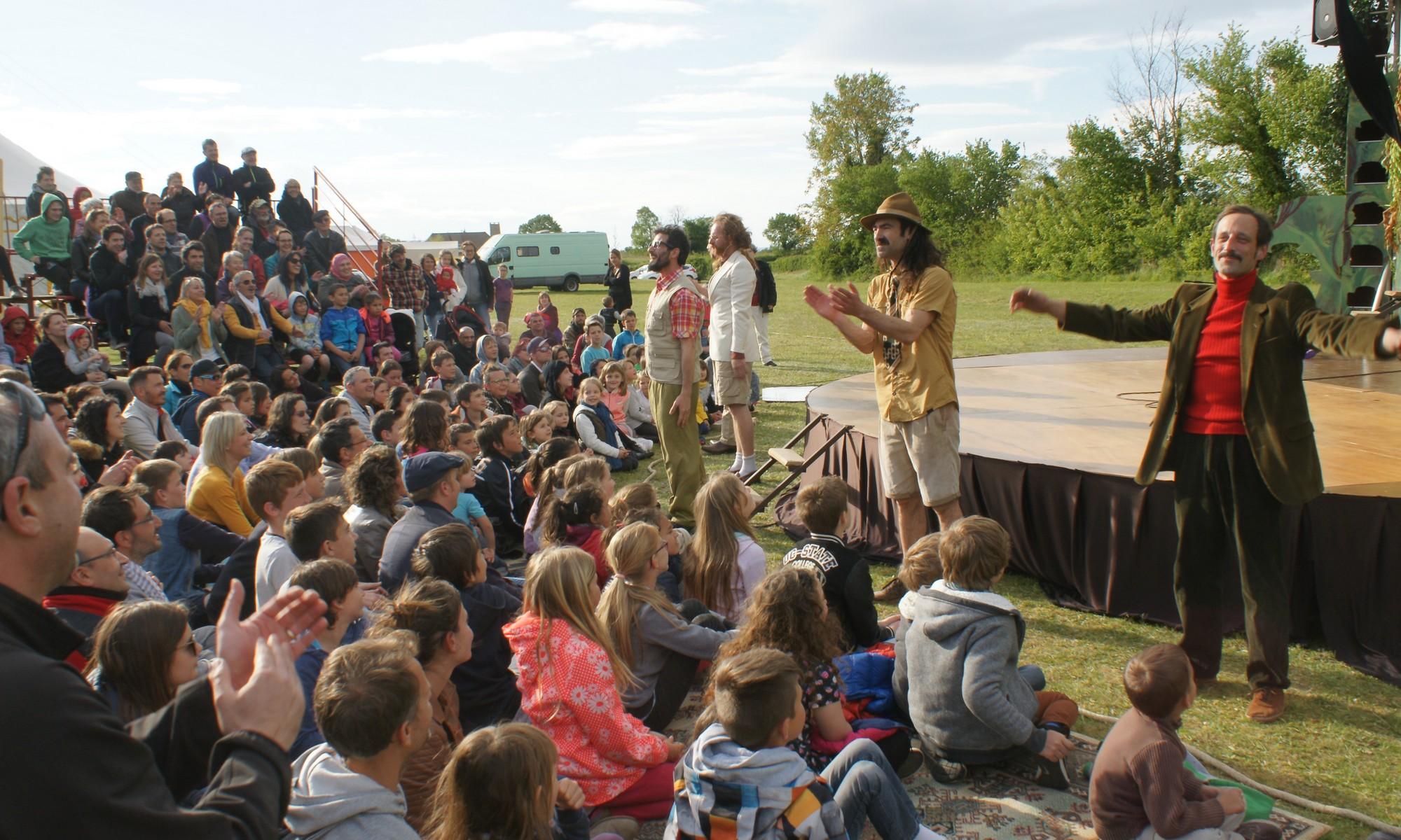 Festival de cirque des Turbulles à Leyrieu
